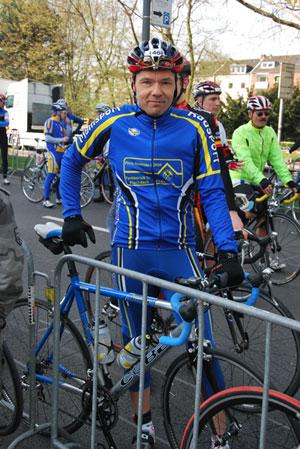 Michael Klodt vor dem Start bei Rund um Köln 2010